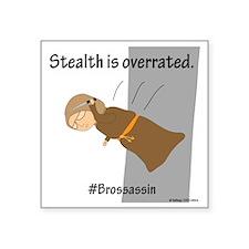 """Brossassin Stealth Square Sticker 3"""" x 3"""""""