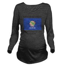 Oklahoma Tulsa Missi Long Sleeve Maternity T-Shirt