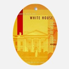Taking Back The White House Oval Ornament