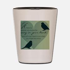 Bird Friends Shot Glass