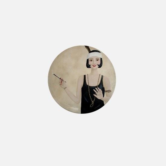 StephanieAM Flapper Mini Button