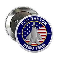 """F-22 Raptor Demo Team 2.25"""" Button"""