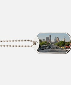 Austin_Rect_Color_DowntownWithCapitolBuil Dog Tags