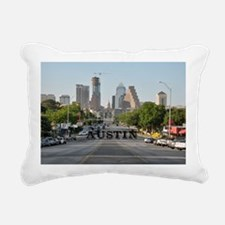 Austin_Rect_Color_Downto Rectangular Canvas Pillow