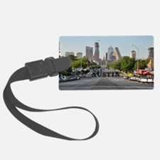 Austin_Rect_Color_DowntownWithCa Luggage Tag