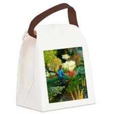 StephanieAM Garden Canvas Lunch Bag