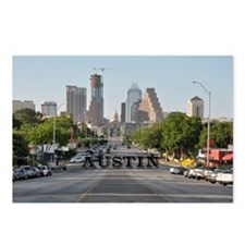 Austin_Rect_Color_Downtow Postcards (Package of 8)