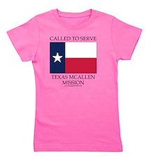 Texas McAllen Mission - Texas Flag - Ca Girl's Tee