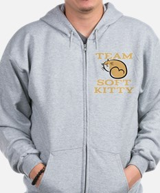 Team Soft Kitty Zip Hoodie