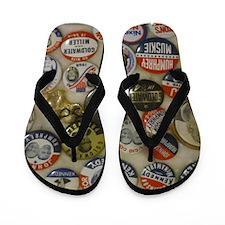 Vote 4 Me Flip Flops
