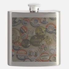 Vote 4 Me Flask