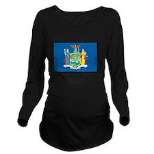 New York Utica Missi Long Sleeve Maternity T-Shirt
