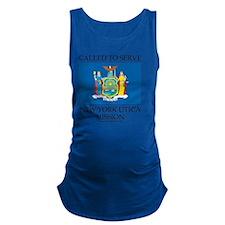 New York Utica Mission - New Yo Maternity Tank Top
