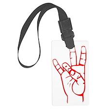 Sign Language 7 Luggage Tag