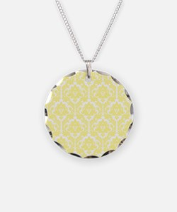 Light Yellow Damask Necklace