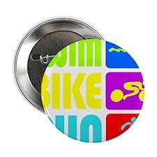 "TRI Swim Bike Run Figures 2.25"" Button"