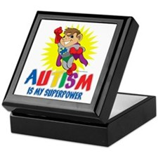 Autism Is My Superpower Keepsake Box