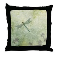 StephanieAM Dragonfly Throw Pillow