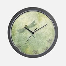 StephanieAM Dragonfly Wall Clock