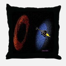 Acoustic Rocket Throw Pillow