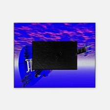 Big Blue Guitar Picture Frame
