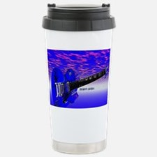 Big Blue Guitar Travel Mug