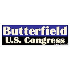 G. K. Butterfield for Congress Bumper Sticker