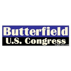 G. K. Butterfield for Congress Bumper Bumper Sticker