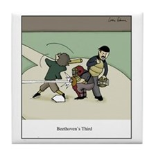 Beethovens Third Tile Coaster