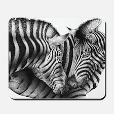 Zebras 5x7 Rug Mousepad