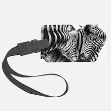 Zebras 5x7 Rug Luggage Tag
