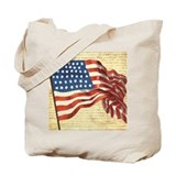 4th july Canvas Bags