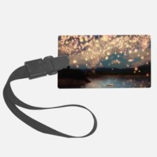Wish Lanterns for Love Luggage Tag