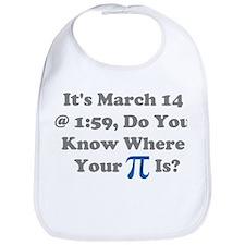 Pi Day, March 14 Bib