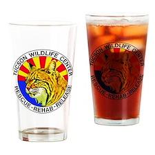 Tucson Wildlife Center New Logo Lar Drinking Glass