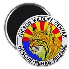 Tucson Wildlife Center New Logo Large Magnet