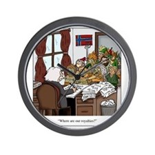 Grieg in Trouble Wall Clock
