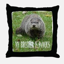 Famous Brother Throw Pillow
