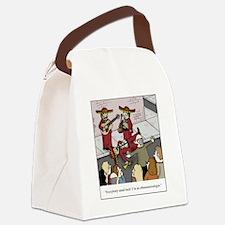 Im an Ethnomusicologist Canvas Lunch Bag