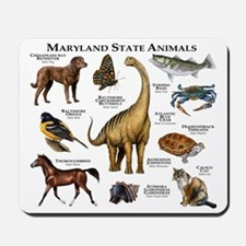 Maryland State Animals Mousepad