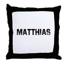 Matthias Throw Pillow