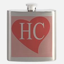 I love Hillary Clinton Flask