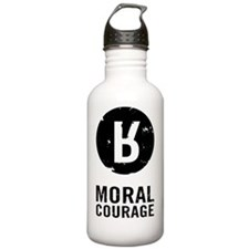 Moral Courage_Black Water Bottle