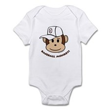 Baseball Monkey! Infant Bodysuit