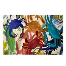 Crab Party Postcards (Package of 8)