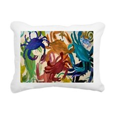 Crab Party Rectangular Canvas Pillow