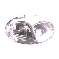 newcar Oval Car Magnet