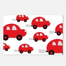 cars_design Postcards (Package of 8)