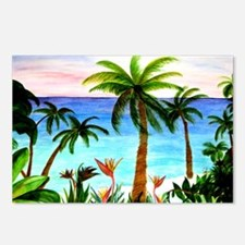 Aqua Beach Postcards (Package of 8)