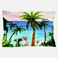 Aqua Beach Pillow Case